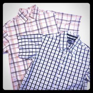 Gap/Arizona Button Down Shirt Bundle of Two Size S
